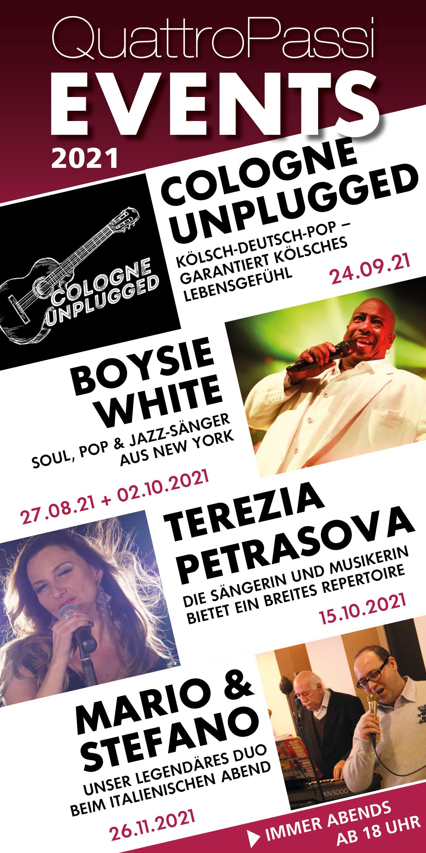 Events 2021 QuattroPassi