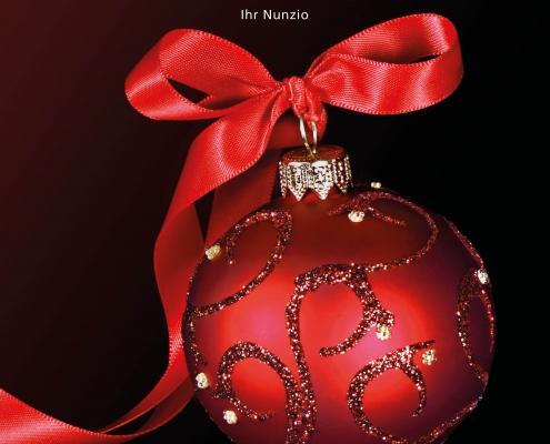Weihnachts-Speisekarte Restaurant QuattroPassi